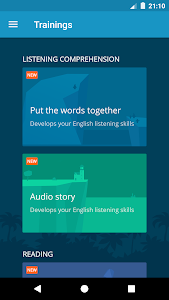 screenshot of English with Lingualeo version 2.7.7
