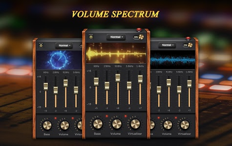 screenshot of Equalizer - Bass Booster & Sound Booster version 1.1.2