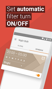 screenshot of Blue Light Filter & Night Mode - Night Shift version 3.04