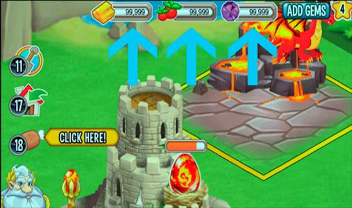 screenshot of FREE Gems Dragon City Prank version 2.0