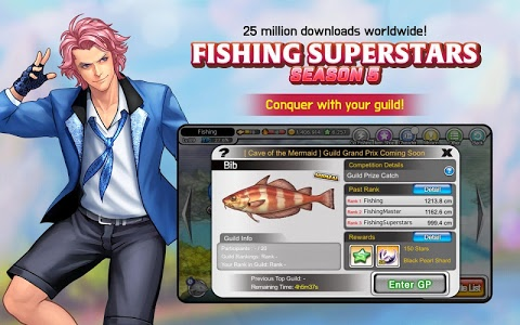 screenshot of Fishing Superstars : Season5 version 5.3.2