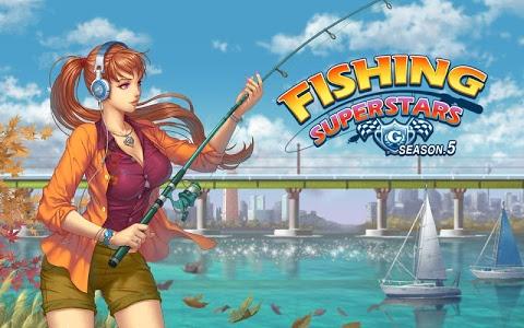 screenshot of Fishing Superstars : Season5 version 5.0.3