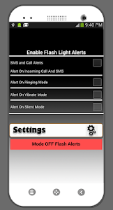 Download Flash Alerts Call & SMS 1.0.4 APK