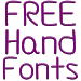 Download Fonts Hand for FlipFont® Free 3.23.0 APK