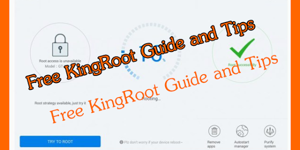 screenshot of Free Kingroot Guide and Tips version 1.0.1