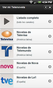 screenshot of Free Soap Operas version Varies with device