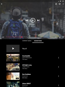 screenshot of Free music for YouTube: Stream version 1.5.1