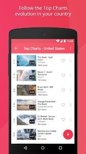 screenshot of Free music for YouTube: Stream version 1.5.1