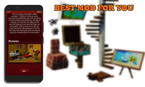 Download Furniture Mod for MCPE 1.0 APK
