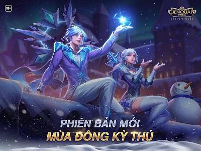 screenshot of Garena Liên Quân Mobile version 1.26.1.2