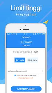 screenshot of GoRupiah-Pinjaman Dana Uang version 1.8.3