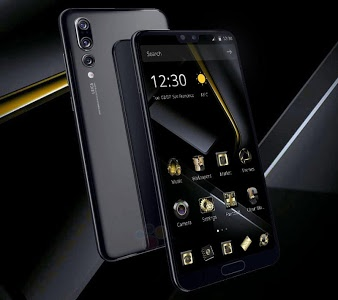Download Gold Black Business Theme 1.1.3 APK