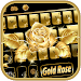 Download Gold rose Keyboard Theme 10001014 APK