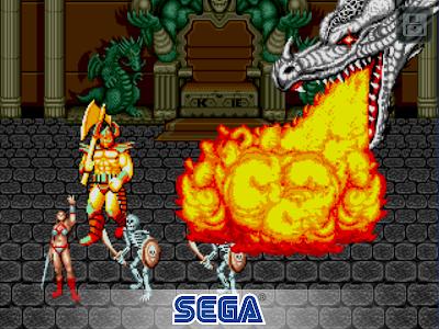 screenshot of Golden Axe Classics version 1.4.0