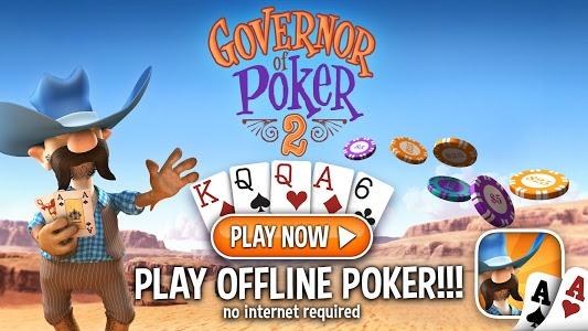 screenshot of Governor of Poker 2 - OFFLINE POKER GAME version 3.0.10