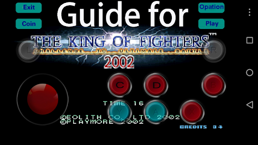 Download Guide for King of Fighter 2002 2.0 APK