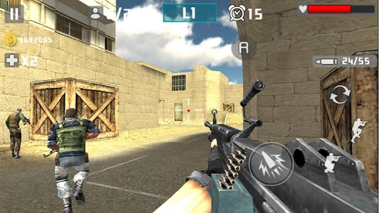 screenshot of Gun Shot Fire War version 1.2.4