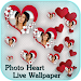 Download Love Live Wallpaper - Floating Photo Hearts 3.1 APK