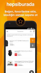screenshot of Hepsiburada version 2.5.3