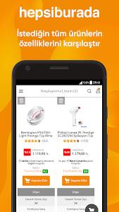 screenshot of Hepsiburada version Varies with device
