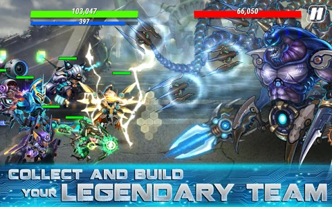 screenshot of Heroes Infinity: Blade & Knight Online Offline RPG version 1.23.3