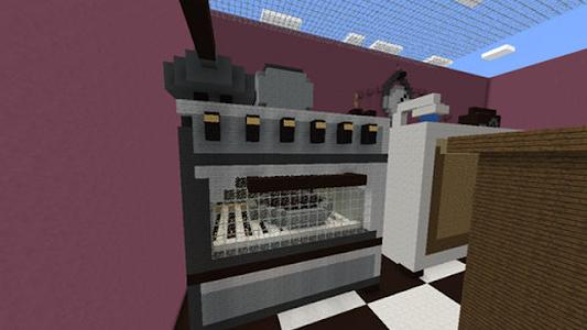 screenshot of Hide and seek MCPE map version 1.6