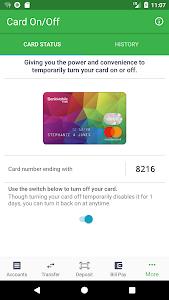 screenshot of BankMobile App version 5.2