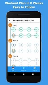 screenshot of Home Workout - No Equipment version 1.1.2