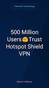screenshot of Hotspot Shield Basic - Free VPN Proxy & Privacy version 6.6.1