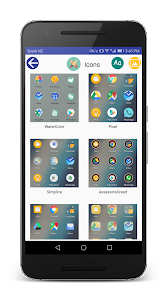 screenshot of Huawei Themes Manager EMUI version 29