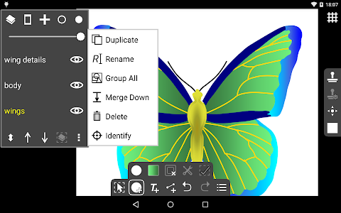 screenshot of Ivy Draw: Vector Drawing version 1.30