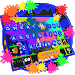 Download Jet Graffiti Keyboard Theme 1.0 APK