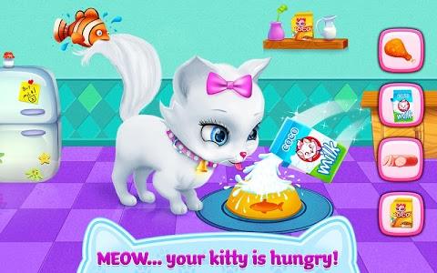 screenshot of Kitty Love - My Fluffy Pet version 1.1.1