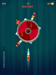 screenshot of Knife Hit version 1.6