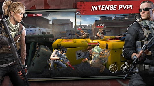 screenshot of Left to Survive: PvP Zombie Shooter version 2.1.0