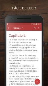 screenshot of La Biblia Reina Valera SE version 2.8.71