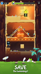 screenshot of Lemmings version 2.00