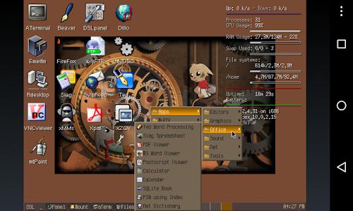screenshot of Limbo PC Emulator QEMU ARM x86 version 2.4.0