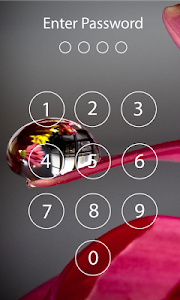 screenshot of Lock screen password version 2.17.3384