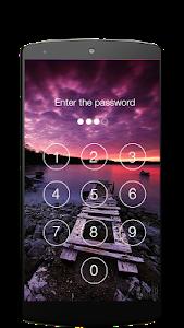 screenshot of Lock screen password version 3.35.3384.118