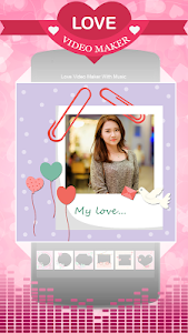 screenshot of Love Video Maker With Music version 2.8