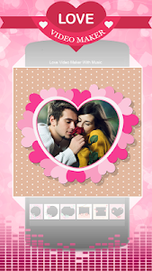 screenshot of Love Video Maker With Music version 1.2