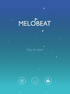 screenshot of MELOBEAT - Awesome Piano & MP3 Rhythm Game version 1.6.4