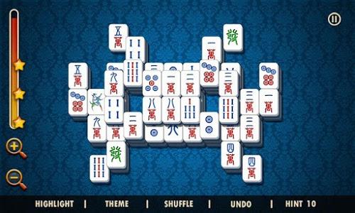 screenshot of Mahjong Solitaire version 1.1