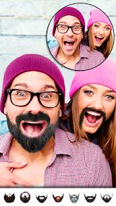 screenshot of Man Hair Mustache Style PRO : Boy Photo Editor version 1.26