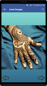 screenshot of Mehndi Designs 2018 version 20.1.1