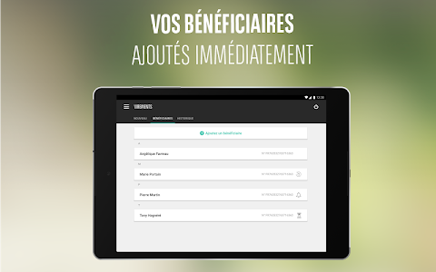 screenshot of Mes Comptes BNP Paribas version 4.11.2