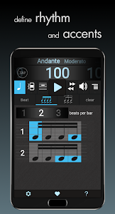 screenshot of Metronomerous - pro metronome version 2.2.3
