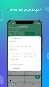 screenshot of Mi Home version 5.4.43