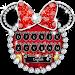 Download Mickey Bowknot Diamond keyboard 10001003 APK